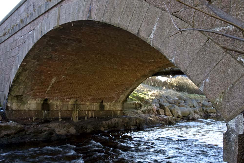 Bridge carrying the main road through Cruden Bay