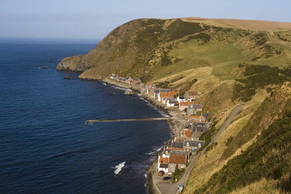 The village of Crovie