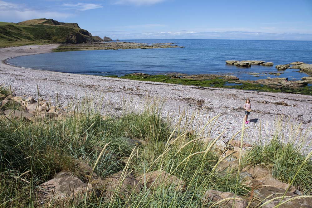 Back to New Aberdour Beach