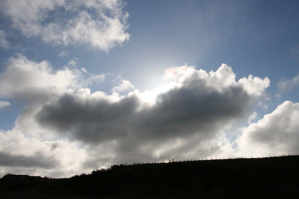 Dramatic clouds over the Hatton field.  March 2912