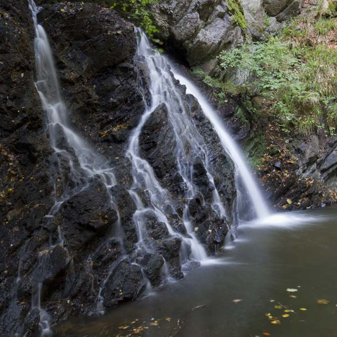 Waterfall at the Fairy Glen, Rosemarkie