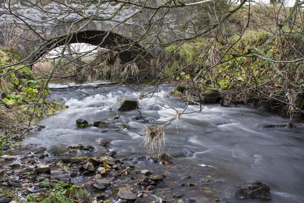 The Water of Cruden near the  Mill of Auchleuchries