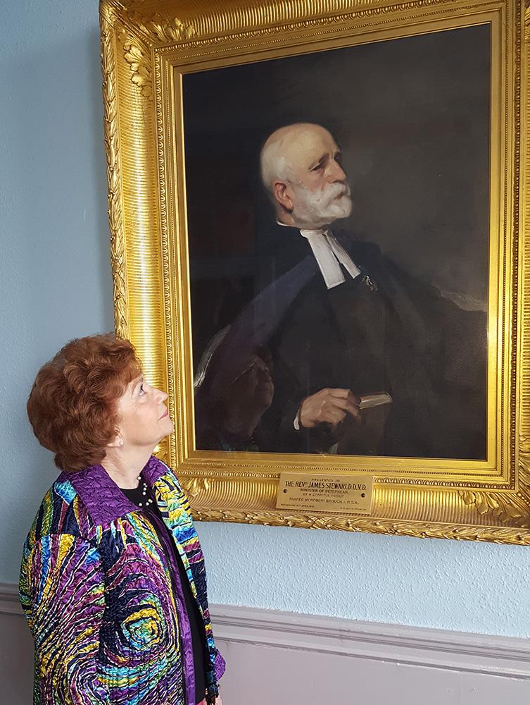 Bonnie Dawson looks at Dr Stewart