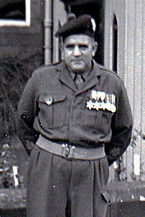 Regimental Sergeant Major Alf Coutts (1958)