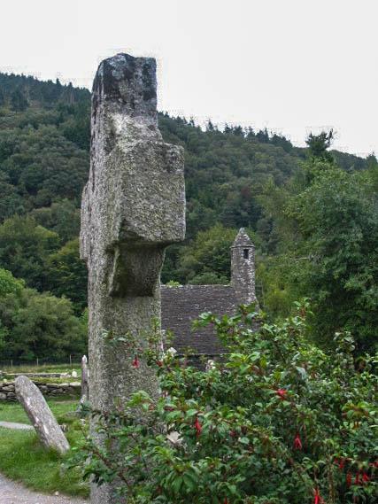 The Church of St Kevin, Glendalough