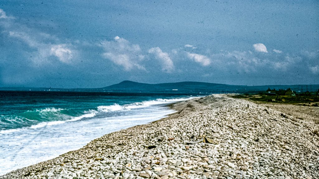 Spey Bay Beach in the 1970s
