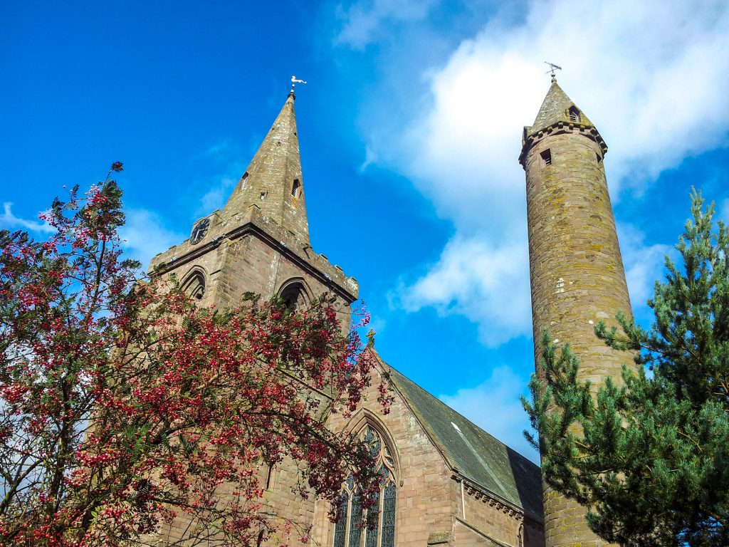 Brechin Cathedral and Round Tower