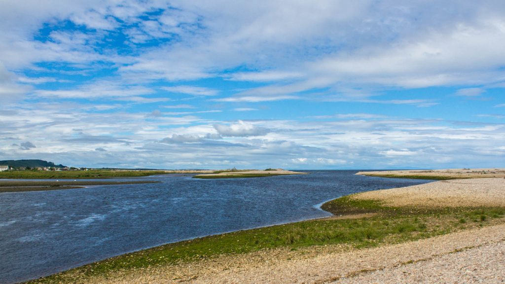 Mouth of the River Spey July 2016