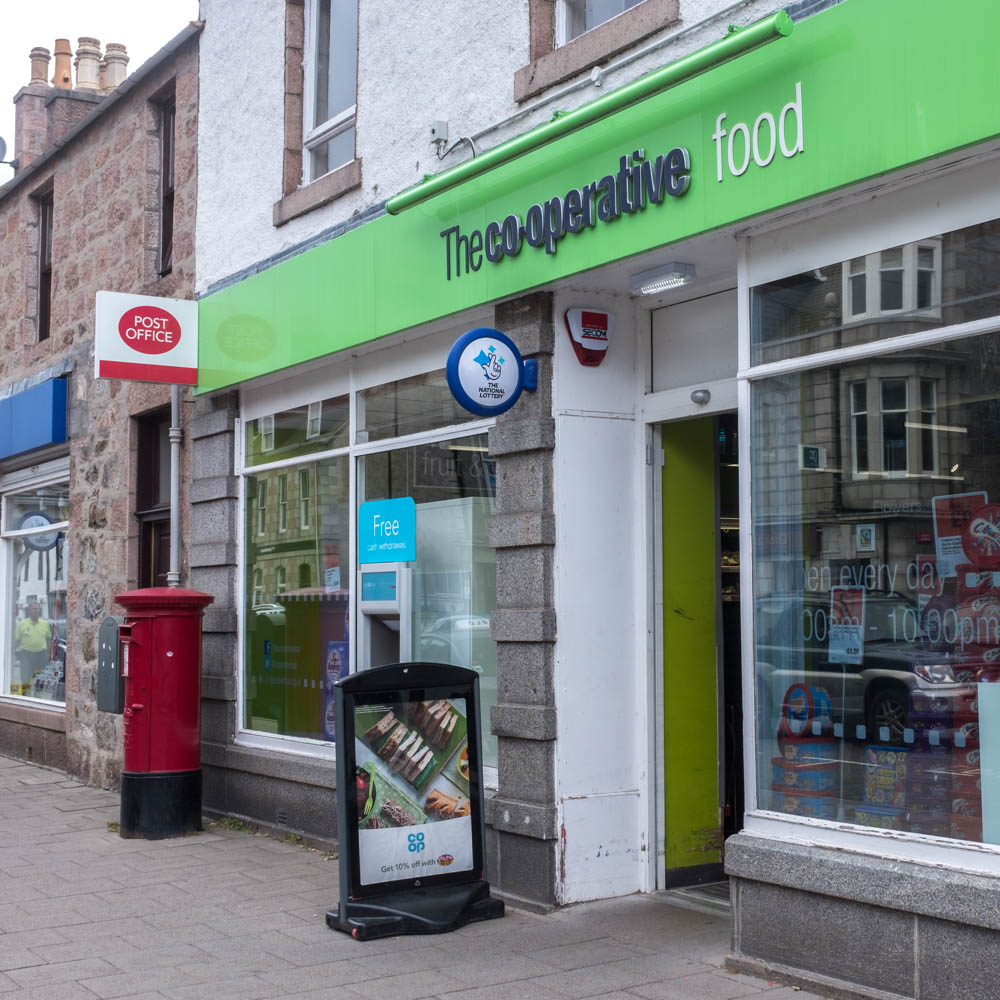 Banchory Post Office 2016