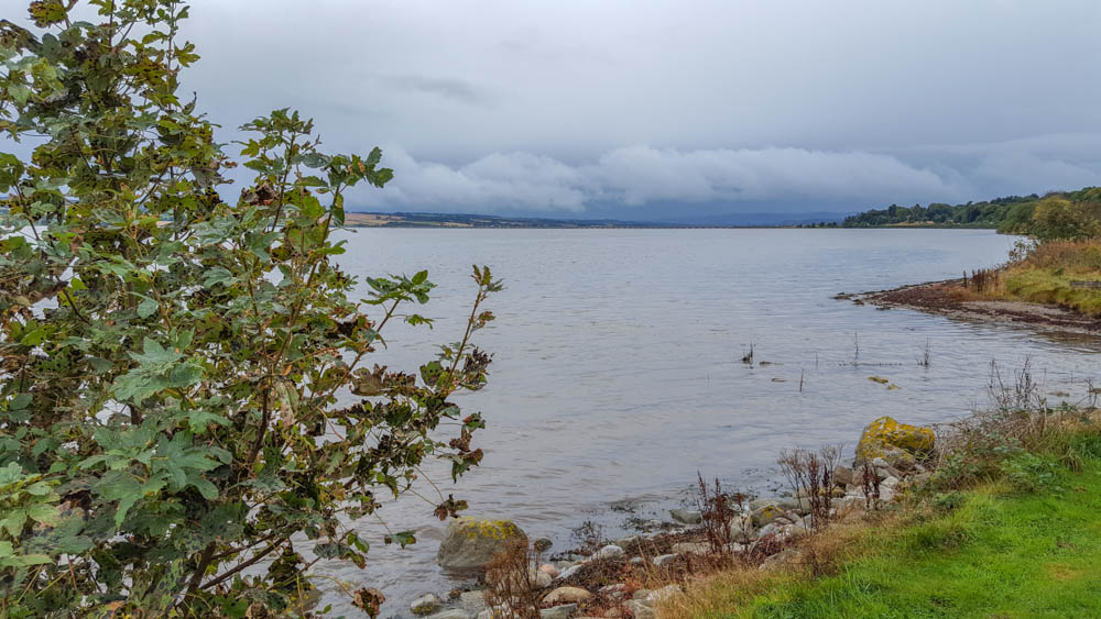 Looking towards the Cromarty Bridge from the Storehouse